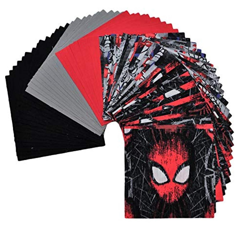 Spiderman - Spiderman Fabric Pack - Quilting Fabric - Charm Pack for Quilting - Quilt Charm Pack - 100% Quilting Cotton - (Spiderman 2)