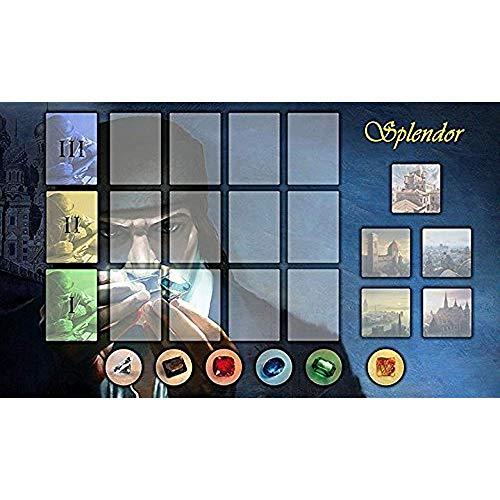 Splendor Mousepad, Custom Splendor Brettspiel Mausmatte 30x80cm