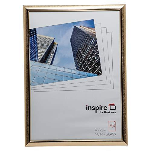Hampton Frames EASYLOADER affiche certificaat fotolijst plexiglas gouden krabber A4 (21x30cm) EAS2130SCG