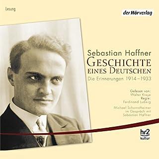 Geschichte eines Deutschen. Die Erinnerungen 1914-1933 Titelbild