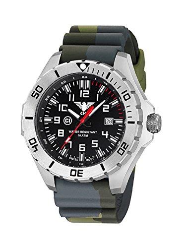KHS Tactical reloj hombre Landleader Steel KHS.LANS.DC3