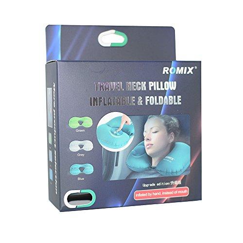Cuscino da viaggio comfort puro al 100% memory foam collo cuscino lavabile in microfibra