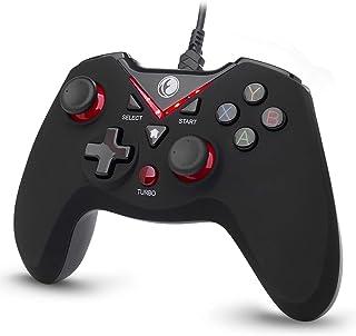 IFYOO V-one 有線USB接続ゲームパッド [PCコンピューターWindows 10/8/7/XP,Steam & Android & PS3]対応コントローラー - [赤い色]