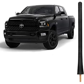 4.8 Inches Designed for Optimized FM//AM Reception TEKK Short Antenna Compatible with 95 to 2016 Toyota Tacoma