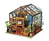 Rolife Kit para Montar Invernadero de Madera Miniatura en 3D - DIY Miniature House - Cathy's Flower House