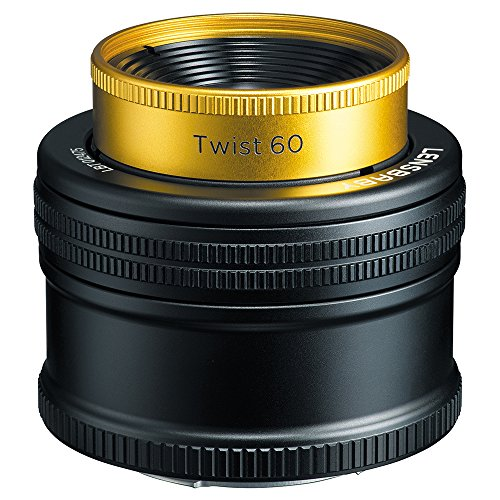 Lensbaby 単焦点レンズ twist 60 60mm F2.5 キヤノン EF用 レンズベビー光学系交換システム対応