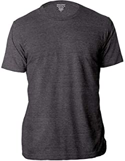 Factory Men's Crew Neck Short Sleeve Premium-Wash T Shirts