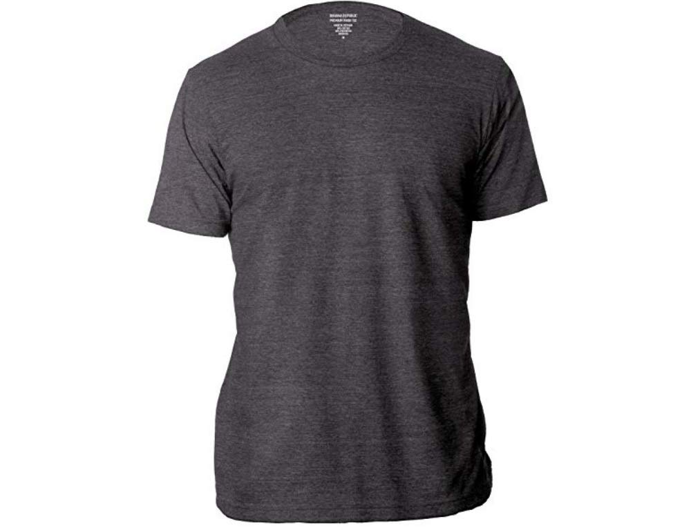 Banana Republic Factory Men's Crew Neck Short Sleeve Premium-Wash T Shirts
