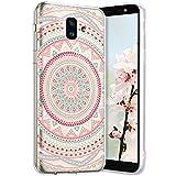 Robinsoni Cover per Samsung Galaxy J6 Plus 2018 Cover Silicone Galaxy J6 Plus 2018 Case Tr...