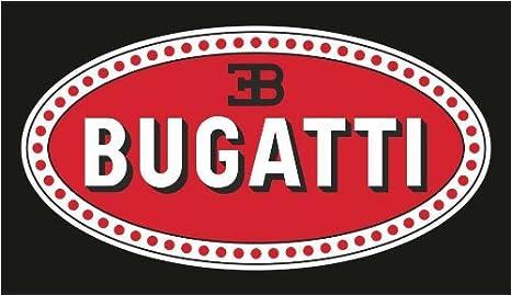 Graphic Lab Aufkleber Sticker Bugatti Auto Rally Formula 1 Racing Decal Sticker Küche Haushalt