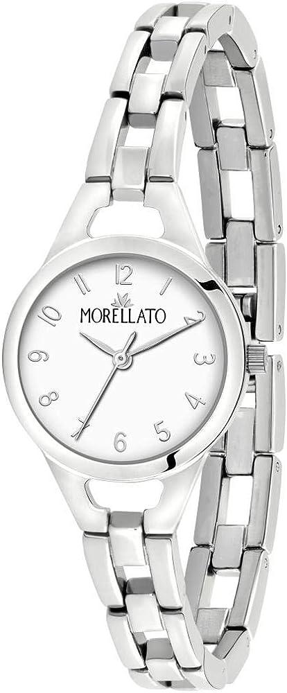 Morellato, orologio analogico al quarzo per donna,  in acciaio inossidabile R0153155503