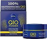 NIVEA Q10 Power Anti-Falten + Straffung Nachtpflege für jünger aussehende Haut im 1er Pack (1 x 50 ml), regenerierende Nachtcreme, Gesichtscreme für intensive Feuchtigkeit