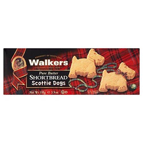 Walkers Galletas De Mantequilla 110g Perros Del Escocés (Paquete de 2)