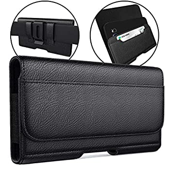 Meilib Belt Case Designed for Samsung Galaxy Note 20  2020  Note 10+ Plus Note 9 Note 8 Cell Phone Belt Holster Case with Belt Clip / Loops Pouch Holder Fits Samsung Galaxy Phones w/ Other Cases on