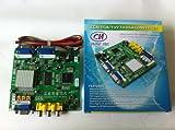 Arcade Game RGB/CGA/EGA/YUV to VGA HD Arcade Game Video Converter Board 2 VGA Output for Arcade Jamma Game Monitor to LCD CRT Monitor PDP Monitor (GBS-6220, 2Vga)