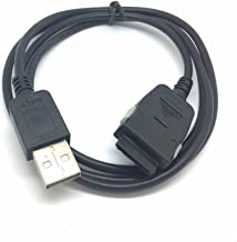 USB Sync Charging BATTERY Charger Cable for Samsung Yepp YP-E10,YP-K3,YP-K5J,YP-P2,YP-P2JQB,YP-P3,YP-Q1,YP-R1,YP-S5,YP-S5JAB,YP-S5JCB,YP-T08,YP-T8A,YP-T10,YP-T10JAB,YP-T10JCB,YP-T10JQB MP3&MP4 Players
