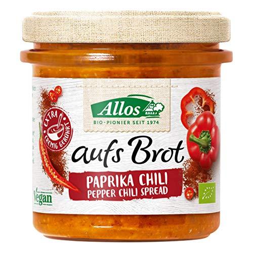 Allos Bio aufs Brot Paprika Chili (6 x 140 gr)