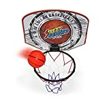 Twitfish - Mini Canestro da Basket per uso Domestico - BasketBall Time