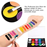 Zoom IMG-2 truccabimbi kit body painting colori