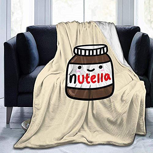 BLANKNTC Super Weiche Fleece Sofadecke,Bedsure Kuscheldecke,Decke Werfen,Bettdecke,Nutella Warme Fleecedecke,Ganzjahres-Sofadecke S