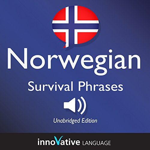 Learn Norwegian: Norwegian Survival Phrases: Lessons 1-50 cover art