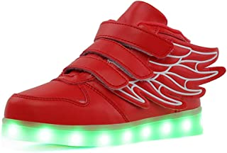 Qkettle Unisex-Child Kids Led Shoes