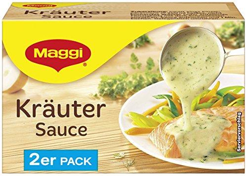 Maggi Delikatess Doppelpack Kräutersoße, 18er Pack (18 x 500 ml)