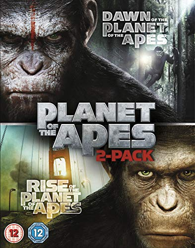Dawn of the Planet of the Apes/Rise of the Planet of the Apes [Double Pack] [Blu-ray]