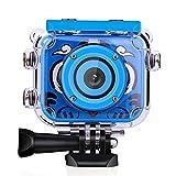 WRJ Action children camera, underwater camera waterproof digital camera for kids young girl