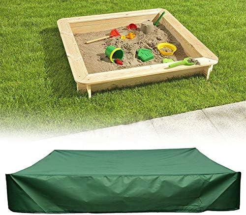 Oxford-Gewebe um Verschmutzung von Sand und Spielzeug zu vermeiden wasserdichte Sandkasten-Abdeckung Pool-Abdeckung Sandkasten-Abdeckung Rokf Sechseckige Sandkasten-Abdeckung mit Kordelzug