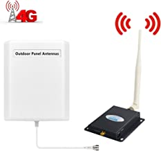 AT&T T-Mobile Cell Phone Signal Booster 4G LTE Signal Booster HJCINTL FDD 700Mhz Band12/17 Home 4G Mobile Phone Signal Booster Amplifier Repeater Kits