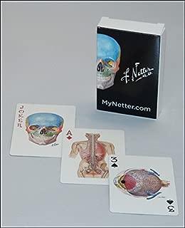 Netter Playing Cards: Netter's Anatomy Art Card Deck (Single Pack) (Netter Basic Science)