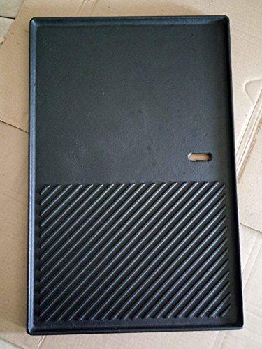 GP3 XXL Grillplatte aus Gusseisen / ca. 48,6 x 31,8cm / Wendeplatte / Pizzaplatte / Bratplatte Für Gasgrills - FÜR PROFIS NEU OVP