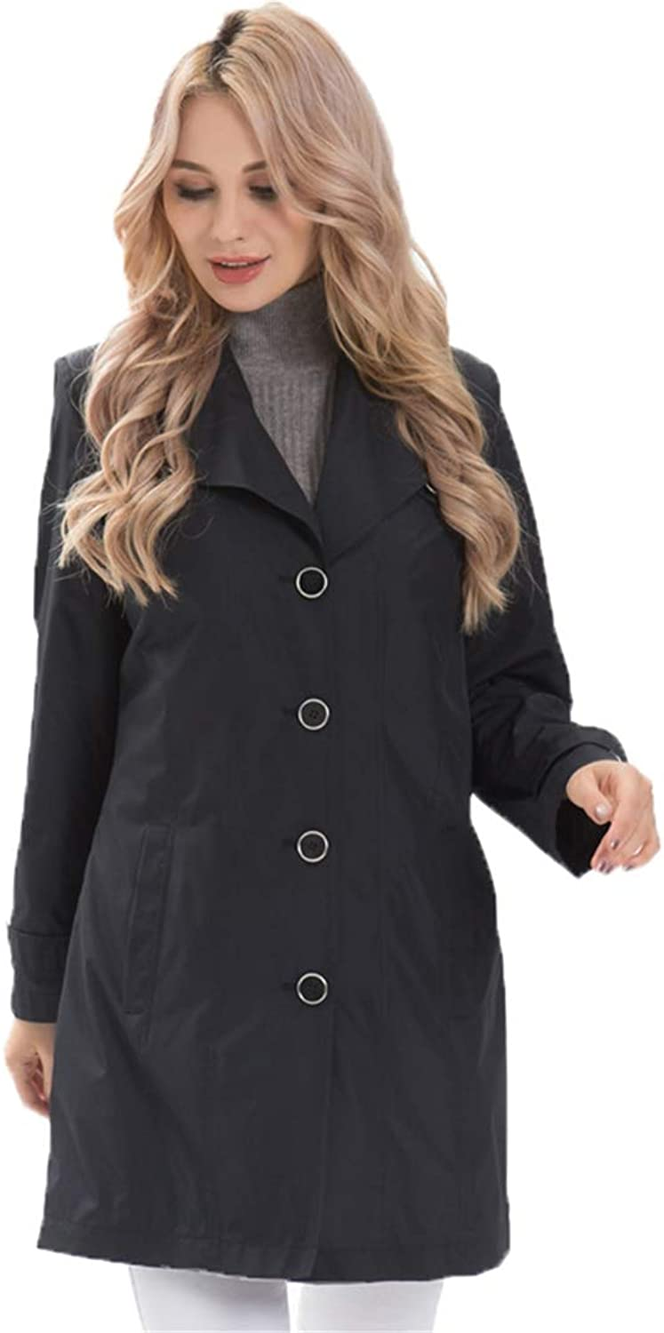 Trench Coat Women Spring Coats Ladies Casual Trench Plus Size TurnDown Collar Outerwear