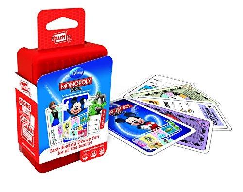 Shuffle Monopoly Deal Disney Card Game by ToyMarket: Amazon.es: Juguetes y juegos