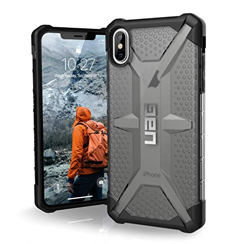 URBAN ARMOR GEAR UAG iPhone XS Max [6.5 Screen] Plasma Feather-Light Rugged [Ash] Military Drop Tested iPhone Case