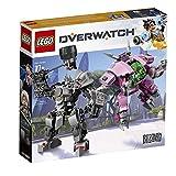 LEGO 6250956 オーバーウォッチ Overwatch D.Va and Reinhardt 75973 Building Kit , New 2019 (455 Piece)