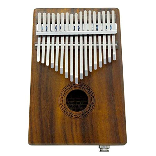 Kalimba, Daumenklavier 17 Keys Holz Thumb Harfe Klavier mit Shock Proof Kalimba Fall Tuning Tool Daumenklavier Finger Percussion Tastatur for Kinder und Anfänger