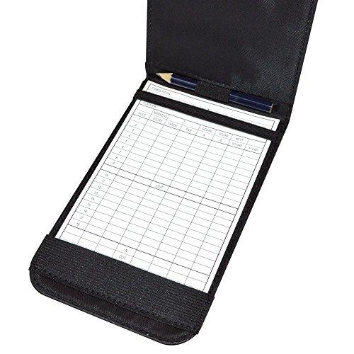 PGA TOUR Score Card Holder - Black - 4