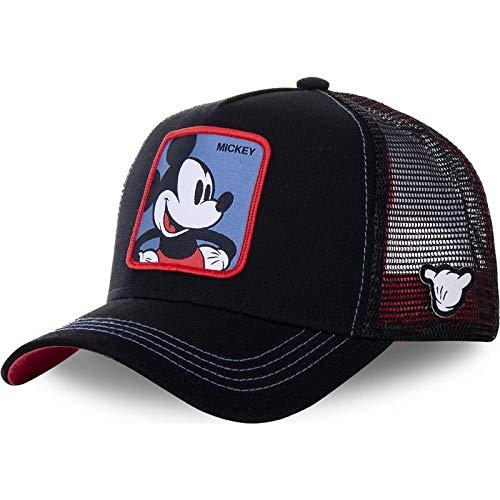 YDXC Gorra de béisbol de algodón Cap para Hombres con Sombrero Camionero Estilo Hip-Hop de Dibujos Animados para papá se aplican a la Pesca de Correr etc-Mickey_Navy