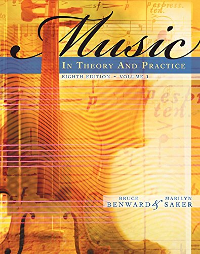 Workbook to accompany Music in Theory and Practice,...