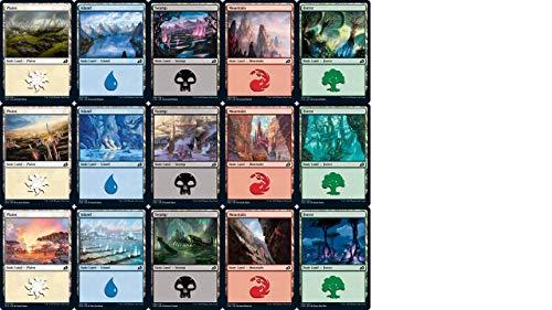 Magic: the Gathering - Ikora: Lair of Behemoths Basic Land Set (1 of Each of 15)