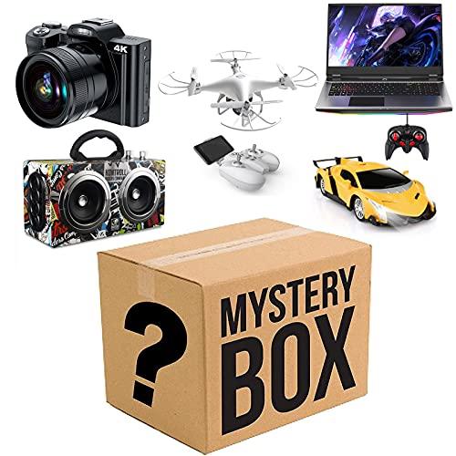 NBALL-TT Caja de Misterio - Laptop Cámara Altavoz Control Remoto Proyector de automóvil Proyector Drone - Todos los artículos Aleatorio