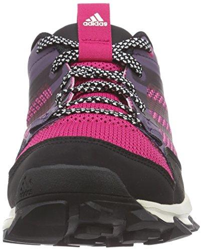adidas Kanadia 7 TR W - Zapatillas para Mujer, Color Morado/Negro/Rosa, Talla 37 1/3