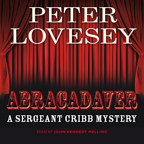 Abracadaver audiobook cover art