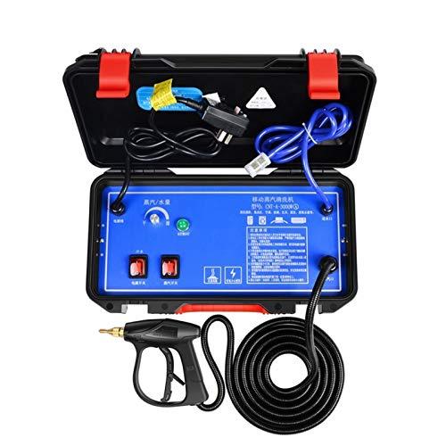 TXOZ-Q 3000W 4.5Bar Máquina de Limpieza de Vapor Temperatura Aire Acondicionador Aire Acondicionado Capucha Coche Herramientas de Limpieza Comercial (Color : Stream Cleaner, Voltage (V) : 110V)