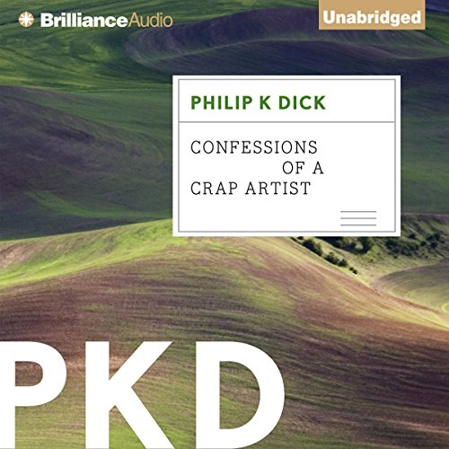 Confessions of a Crap Artist audiobook cover art