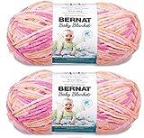 Bernat Baby Blanket Big Ball Yarn (2-Pack) Peachy 161104-4510