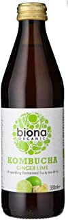 Biona Organic Kombucha Ginger Lime, 330ml