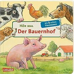 """Buchcover """"Hör mal. Der Bauernhof"""" (Carlsen)"""